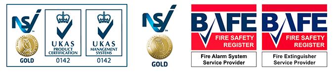 NSI BAFE logos
