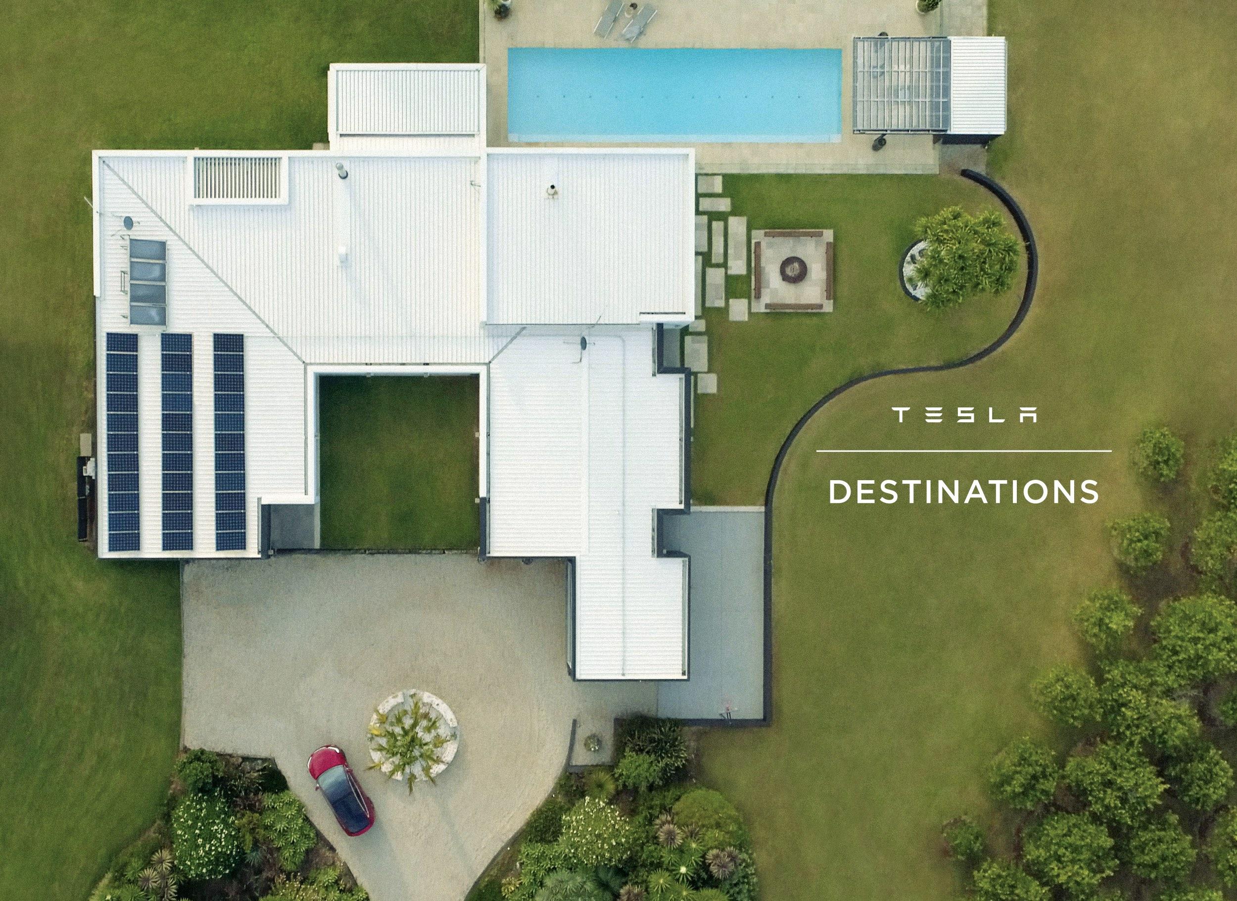 Tesla Destinations competition